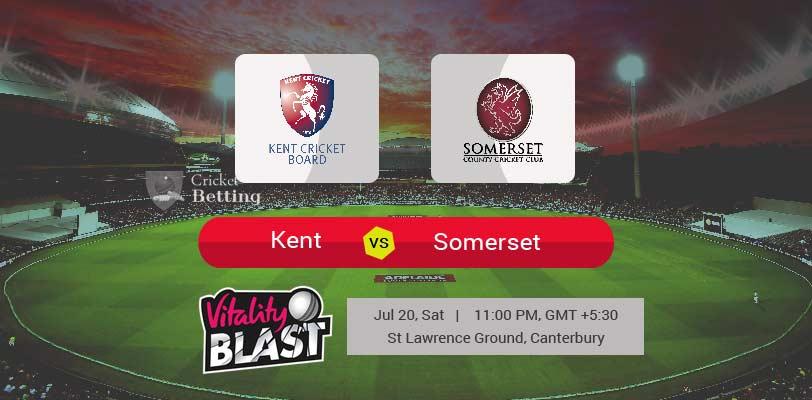 Kent vs Somerset