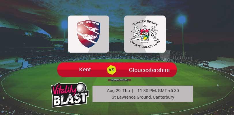 Kent vs Gloucestershire