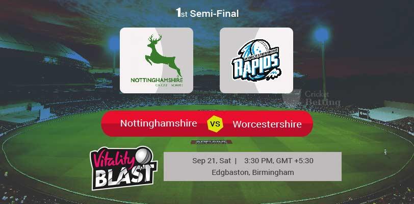 Nottinghamshire vs Worcestershire