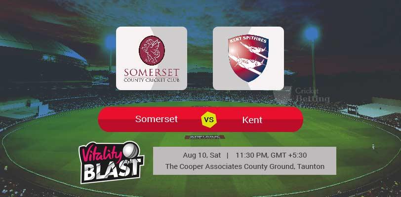 Somerset vs Kent