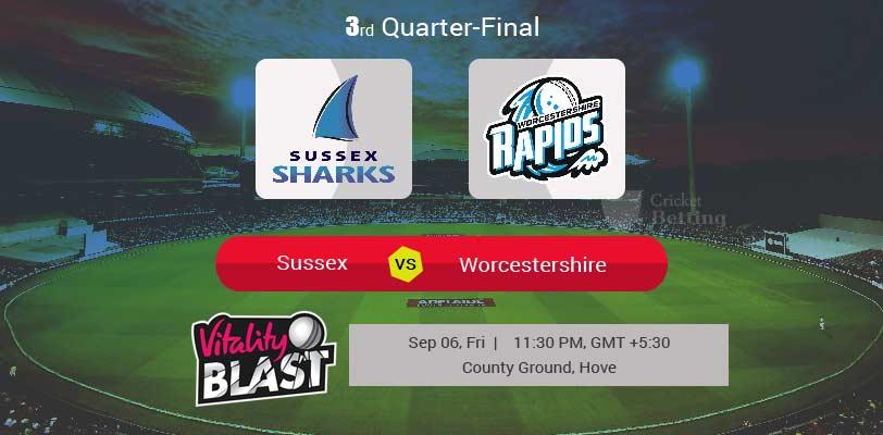 Sussex vs Worcestershire