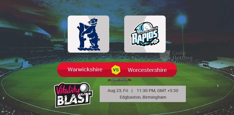 Warwickshire vs Worcestershire