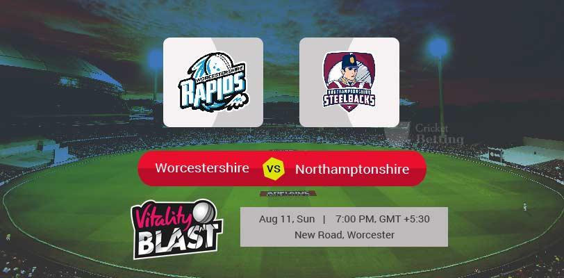 Worcestershire vs Northamptonshire