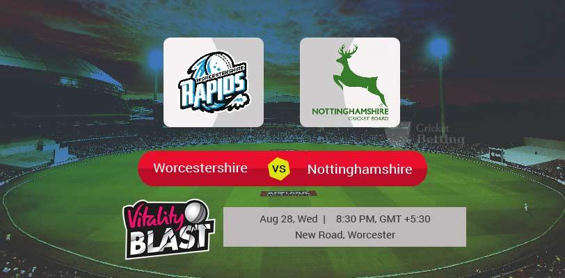 Worcestershire vs Nottinghamshire