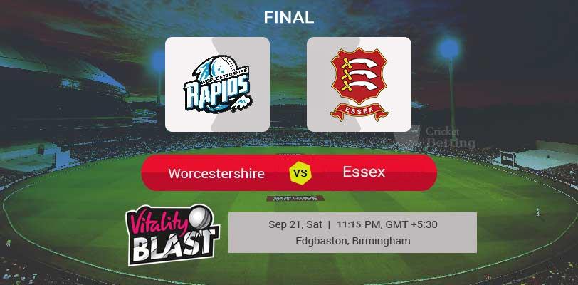 Worcestershire vs Essex