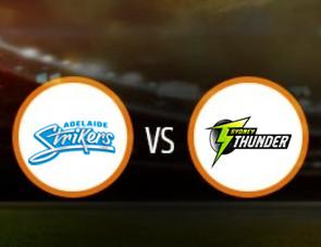 Adelaide Strikers Women vs Sydney Thunder Women Match Prediction