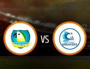Botanical Garden Rangers vs Salt Pond Breakers Match Prediction