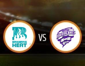 Brisbane Heat vs Hobart Hurricanes BBL T20 Match Prediction