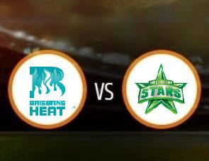 Brisbane Heat vs Melbourne Stars BBL T20 Match Prediction