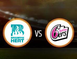 Brisbane Heat vs Sydney Sixers BBL T20 Match Prediction