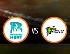 Brisbane Heat vs Sydney Thunder BBL T20 Match Prediction