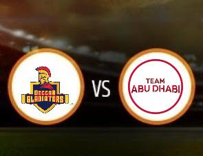Deccan Gladiators vs Team Abu Dhabi T10 Match Prediction
