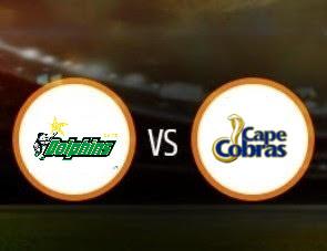 Dolphins vs Cape Cobras CSA T20 Match Prediction
