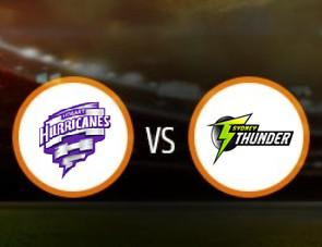 Hobart Hurricanes Women vs Sydney Thunder Women Match Prediction