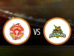 Islamabad United vs Multan Sultans PSL T20 Match Prediction