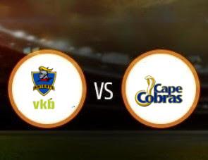 Knights vs Cape Cobras CSA T20 Match Prediction