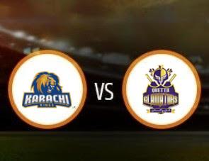Karachi Kings vs Quetta Gladiators PSL T20 Match Prediction