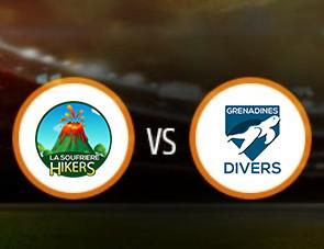 La Soufriere Hikers vs Grenadines Divers Match Prediction