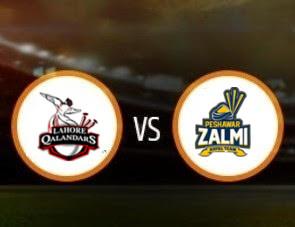 Lahore Qalandars vs Peshawar Zalmi PSL T20 Match Prediction