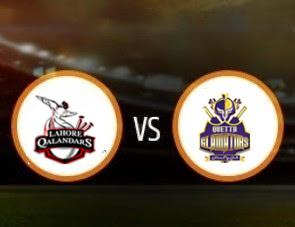 Lahore Qalandars vs Quetta Gladiators PSL T20 Match Prediction