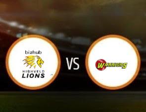 Lions vs Warriors CSA T20 Match Prediction