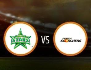 Melbourne Stars vs Perth Scorchers BBL T20 Match Prediction