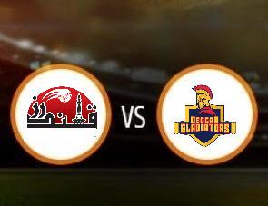 Qalandars vs Deccan Gladiators T10 Match
