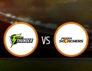 Sydney Thunder vs Perth Scorchers BBL T20 Match Prediction