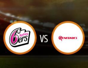 Sydney Sixers Women vs Melbourne Renegades Women Match Prediction
