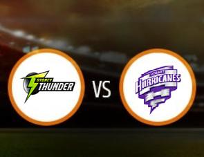 Sydney Thunder Women vs Hobart Hurricanes Women Match Prediction