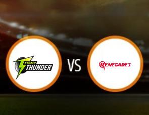 Sydney Thunder Women vs Melbourne Renegades Women Match Prediction
