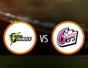Sydney Thunder Women vs Sydney Sixers Women Match Prediction
