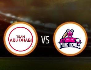 Team Abu Dhabi vs Pune Devils T10 Match Prediction