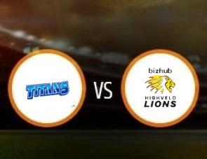 Titans vs Lions CSA T20 Match Prediction