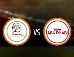 Team Abu Dhabi vs Sharjah Match Prediction