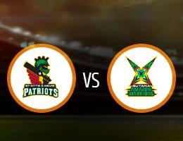 St Kitts and Nevis Patriots vs Guyana Amazon Warriors Match Prediction