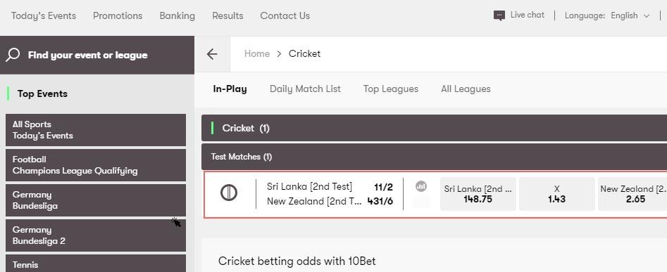 srilanka-vs-newzealand-10bet