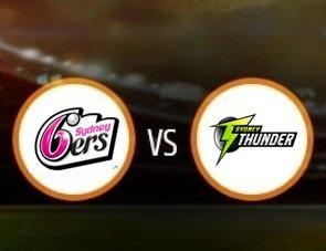 Sydney Sixers Women vs Sydney Thunder Women Match Prediction