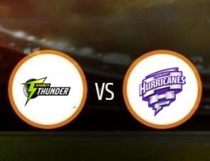 Sydney Thunder vs Hobart Hurricanes BBL T20 Match Prediction