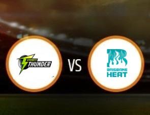 Sydney Thunder vs Brisbane Heat BBL T20 Match Prediction